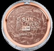 Отзывы Компактная пудра бронзирующая Sun Lover Glow Bronzing Powder Сatrice 010 с эффектом загара