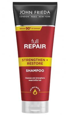 Укрепляющий + восстанавливающий шампунь для волос John Frieda Full Repair 250 мл: фото