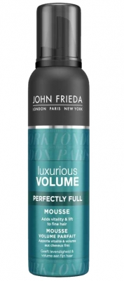 Мусс для создания объема с термозащитным действием John Frieda Luxurious Volume 200 мл: фото