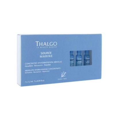Морской интенсивный увлажняющий концентрат для лица THALGO 7*1,2мл: фото