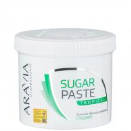 Сахарная паста для депиляции Тропическая, средней консистенции Aravia Professional 750г: фото