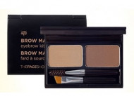 Отзывы Палетка для макияжа бровей THE FACE SHOP BROWMASTER EYEBROW KIT02 GRAY BROWN 4г