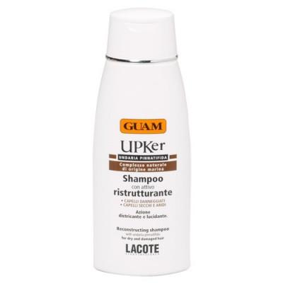 Шампунь для восстановления сухих секущихся волос GUAM UPKer 200 мл: фото