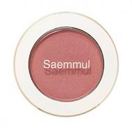 Тени для век мерцающие The Saem Saemmul Single Shadow Shimmer PK09 Rose Fence 2гр: фото