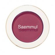 Тени для век матовые The Saem Saemmul Single Shadow Matte RD08 Kill Point Burgundy 1,6гр: фото