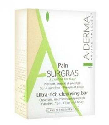Мыло твердое ультраобогащенное косметическое A-DERMA Ultra-Rich Cleansing Bar 100 г: фото