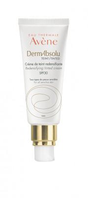 Крем для упругости кожи лица с тональным эффектом SPF30 Avene DermAbsolu TEINT 40 мл: фото