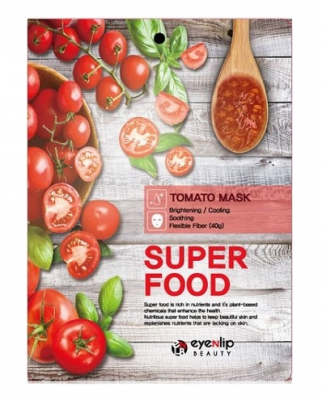 Маска для лица тканевая с томатом EYENLIP SUPER FOOD TOMATO MASK 23мл: фото