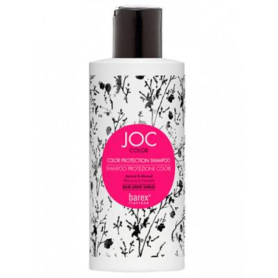 Шампунь Стойкость цвета с Абрикосом и Миндалем Barex JOC Color line Protection Shampoo 250мл: фото