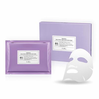 Маска тканевая шелковая со скаленом Dr. Althea Pro Lab Premium Squalane Silk Mask 5 шт: фото