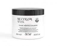 Маска-фиксатор цвета для окрашенных волос Be Hair Be Color After Colour Mask 500мл: фото
