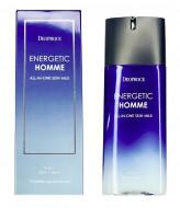 Мужской многофункциональный лосьон DEOPROCE Energetic Homme All-In-One Skin Milk 130мл: фото