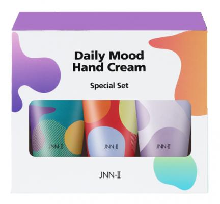 Набор кремов для рук JUNGNANI JNN-II DAILY MOOD HAND CREAM SPECIAL SET3 60г*3шт: фото