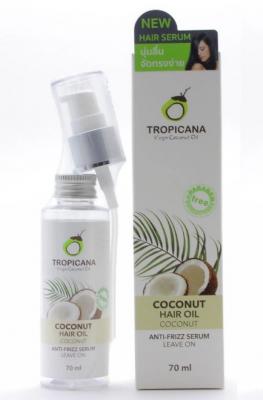 Сыворотка для волос КОКОС TROPICANA Hair serum Coconut 70мл: фото