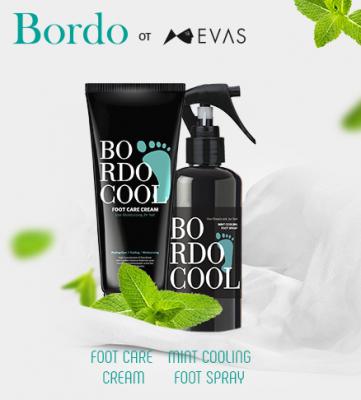 Спрей для ног ОХЛАЖДАЮЩИЙ EVAS Bordo Cool Mint Cooling Foot Spray 150 мл: фото