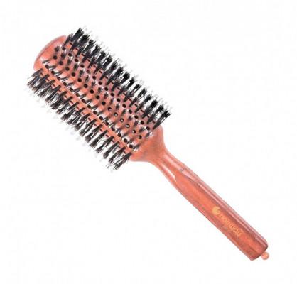 Брашинг деревянный с натуральной щетиной и нейлоновыми штифтами Hairway Style 38мм: фото