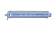 Коклюшки для химической завивки длинные Sibel 12мм серо-голубые 12шт: фото