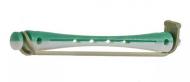 Коклюшки для химической завивки длинные Sibel 6мм бело-зеленые 12шт: фото