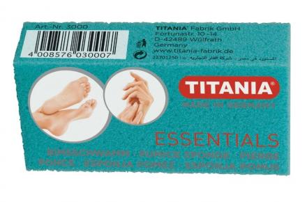 Пемза для ног и рук Titania большая, цветная: фото