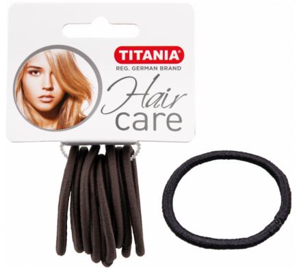 Резинки для волос Titania 5см серые 9шт: фото