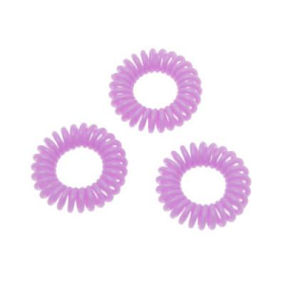 Набор спиральных резинок для волос Sibel Summer 3шт: фото