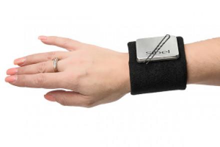 Магнитный держатель для шпилек и невидимок Sibel черный: фото