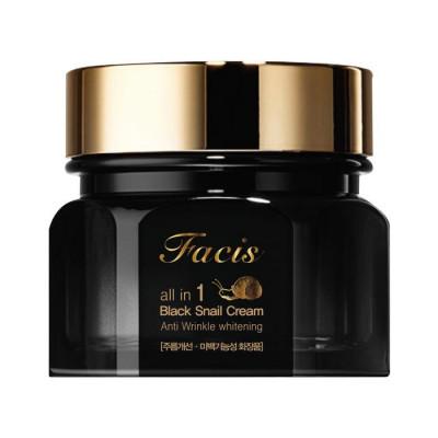 Крем для лица МУЦИН УЛИТКИ Facis All-In-One Black Snail Cream 100мл: фото