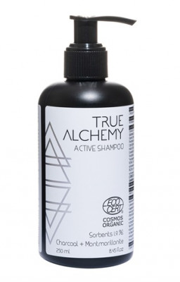 Шампунь True Alchemy Sorbents 1,9%: Charcoal + Montmorillonite 250мл: фото