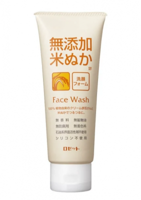 Пенка кремовая для умывания с экстрактом риса Rosette Foam For Washing With Rice Extract 140г: фото