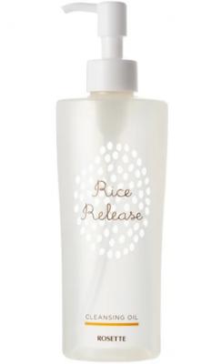 Масло для снятия макияжа с рисовыми экстрактами Rosette Rice release 200мл: фото