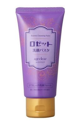 Пенка суперувлажняющая для сухой зрелой кожи с мембраной яичной скорлупы Rosette Age clear 120г: фото