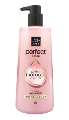 Шампунь для поврежденных волос Mise En Scene Shampoo golden morocco argan oil 680мл: фото