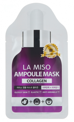 Маска ампульная с коллагеном La Miso Ampoule mask collagen 25г: фото