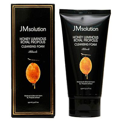 Пенка увлажняющая с прополисом JMsolution Honey luminous royal propolis cleansing foam 150мл: фото