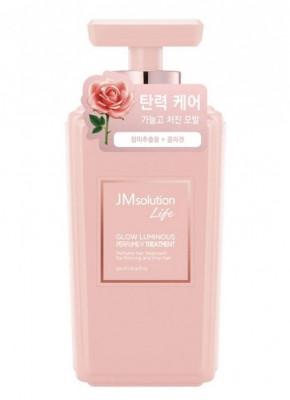 Кондиционер для волос с экстрактом дамасской розы JMsolution Glow luminous porfume 500мл: фото